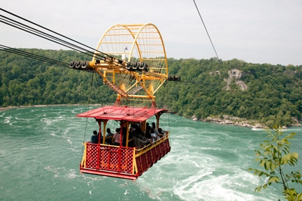 whirlpool aero car over the niagara falls