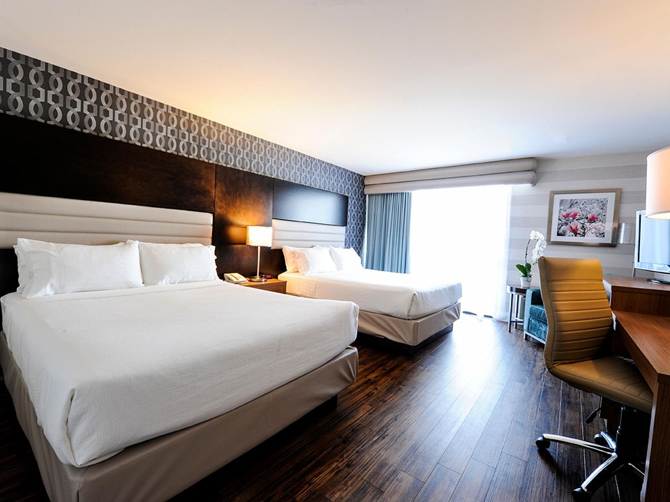 Two Queen Bed room at Holiday Inn