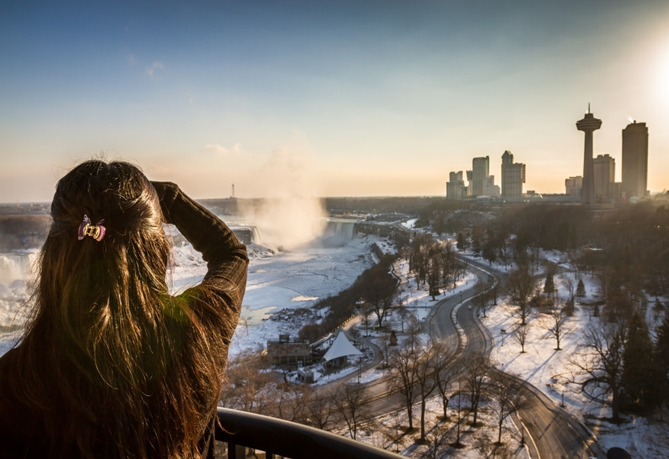 Winter in Niagara Falls